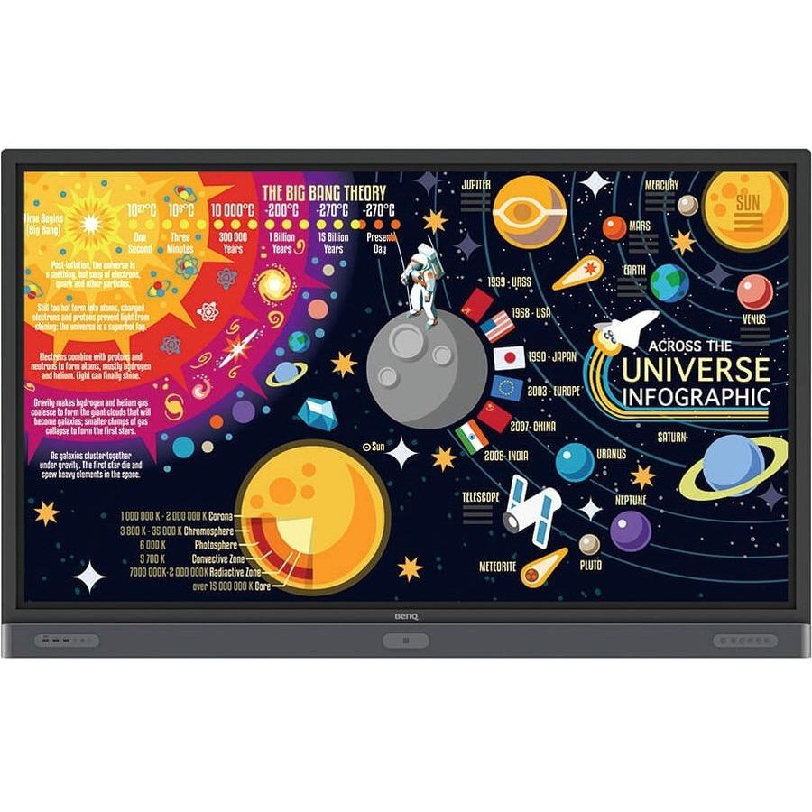 "BenQ Education RP7501K 75"" LCD Touchscreen Monitor - 16:9 - 8 ms_subImage_3"