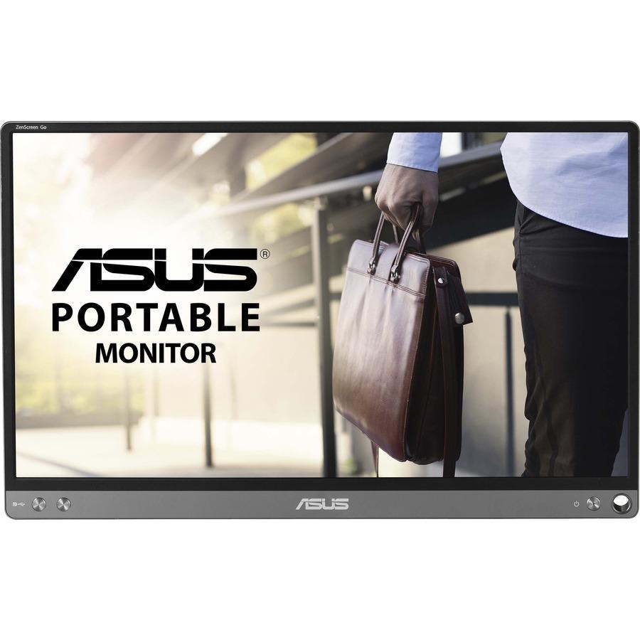 "Asus ZenScreen MB16ACE 15.6"" Full HD LCD Monitor - 16:9 - Dark Gray_subImage_3"