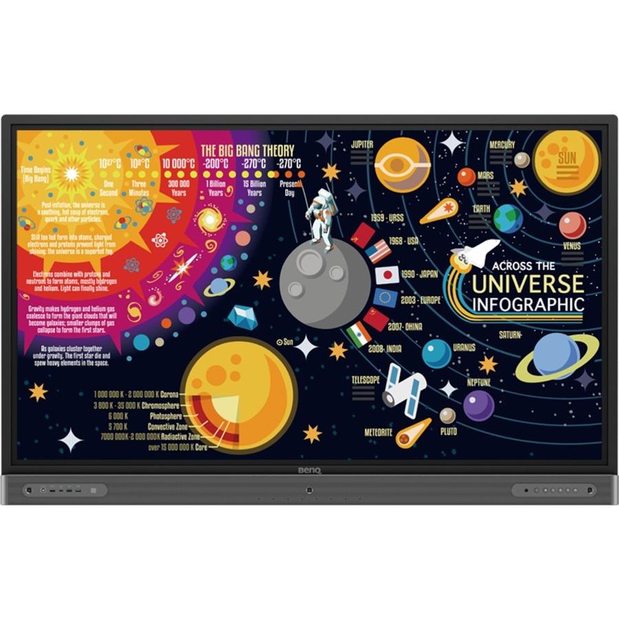 "BenQ RP7502 75"" LCD Touchscreen Monitor - 16:9 - 8 ms_subImage_3"