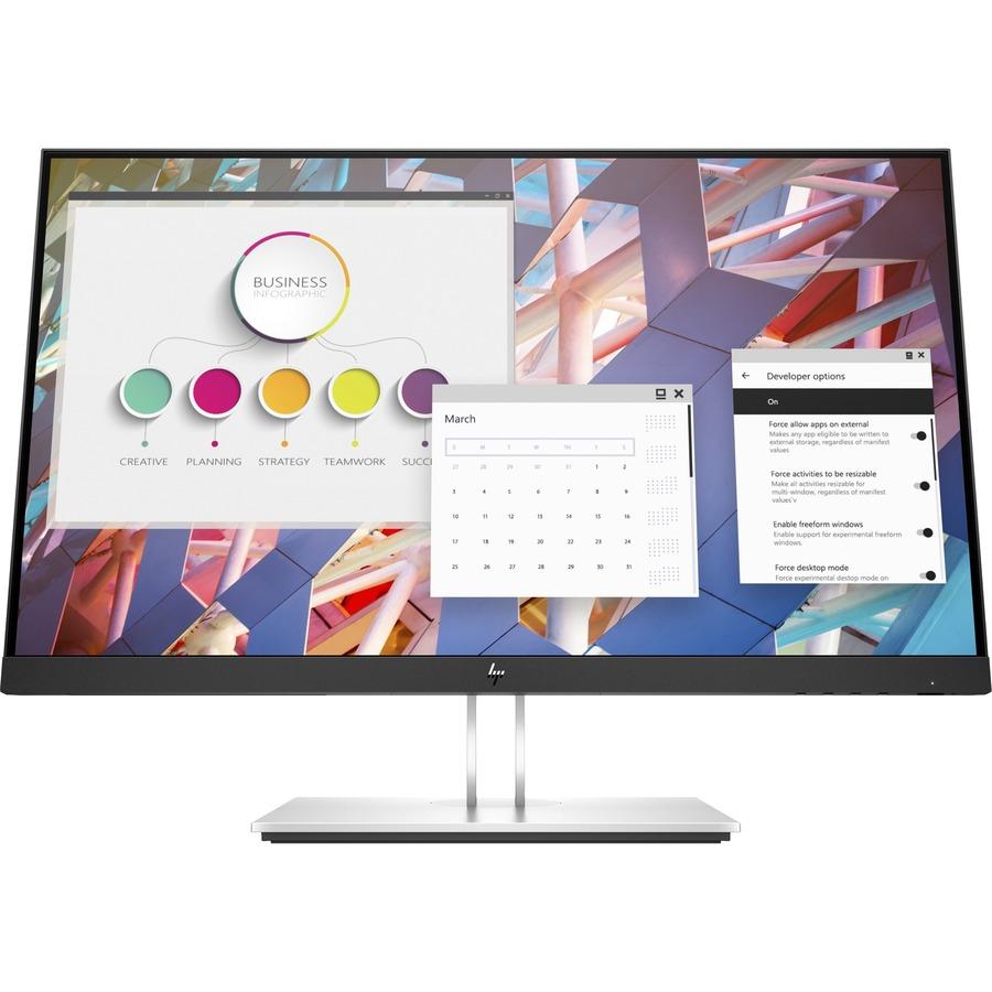 """HP E24 G4 23.8"""" Full HD LED LCD Monitor - 16:9 - Black_subImage_2"""