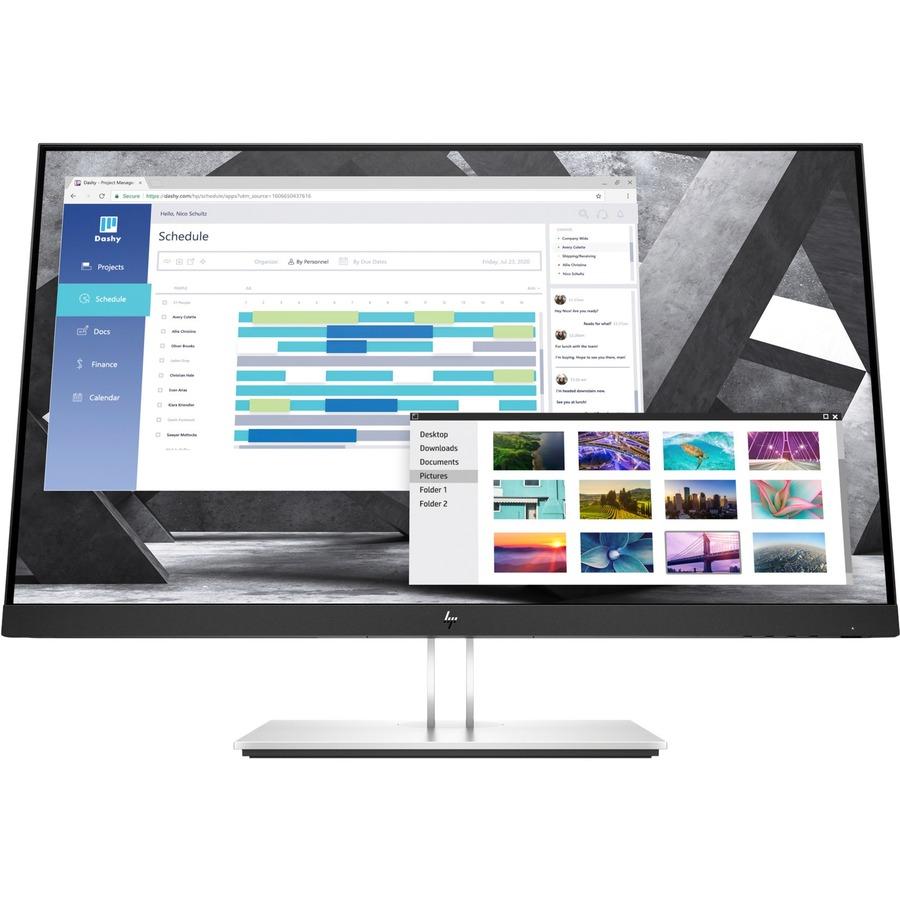 "HP E27q G4 27"" WQHD LED LCD Monitor - 16:9 - Black_subImage_2"