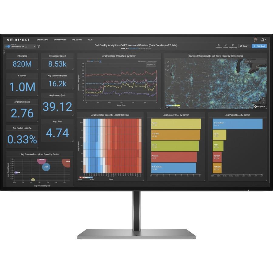 "HP Z27q G3 27"" WQHD LCD Monitor - 16:9 - Silver_subImage_2"