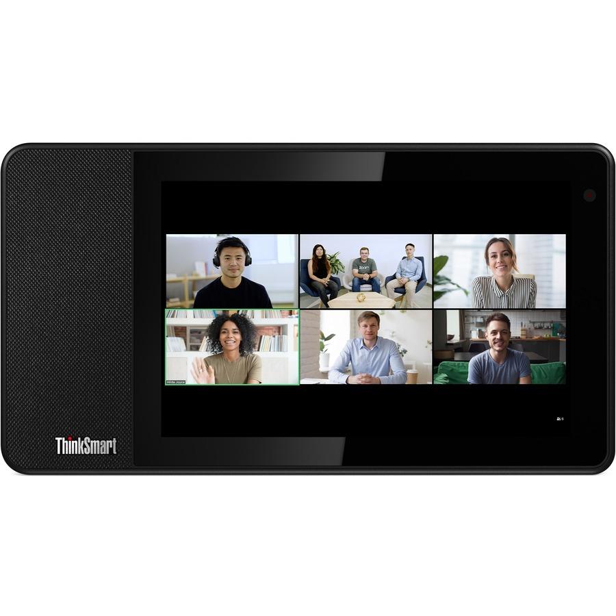 "Lenovo ThinkSmart View ZA840013US Tablet - 8"" HD - 2 GB RAM - 8 GB Storage - Android 8.1 Oreo - Business Black_subImage_3"