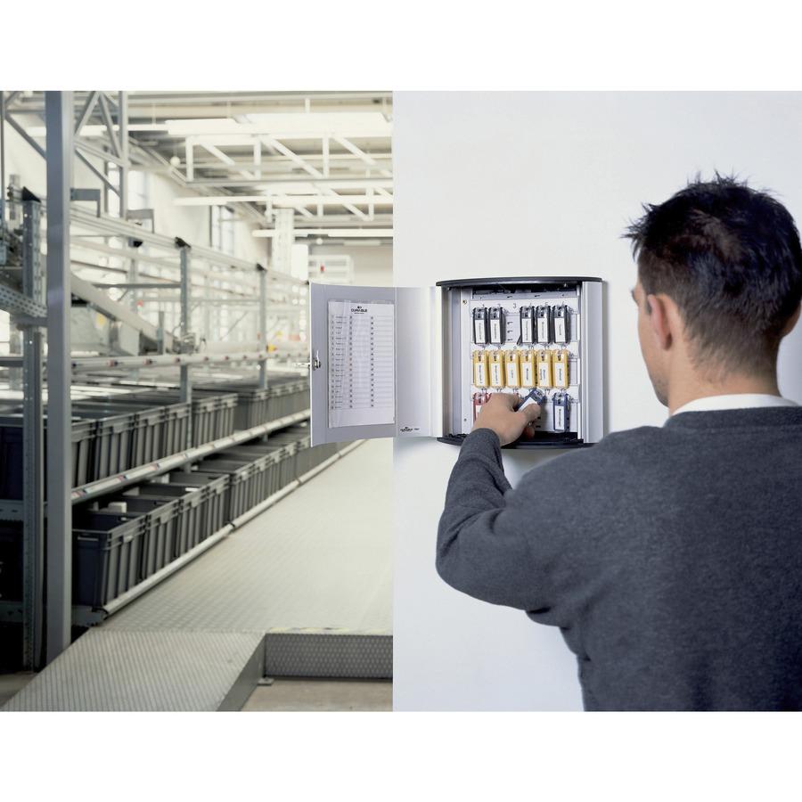 Durable 54 Key Brushed Aluminum Cabinet