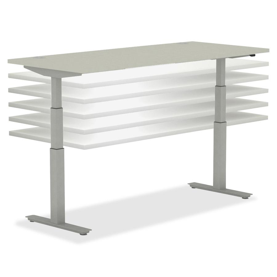 HON Heightadjustable Table Base HONHABSF - Hon table legs