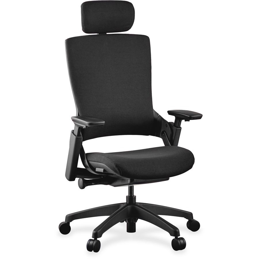 Lorell Executive High Back Chairs Headrest LLR59530 · Hero Shot ...