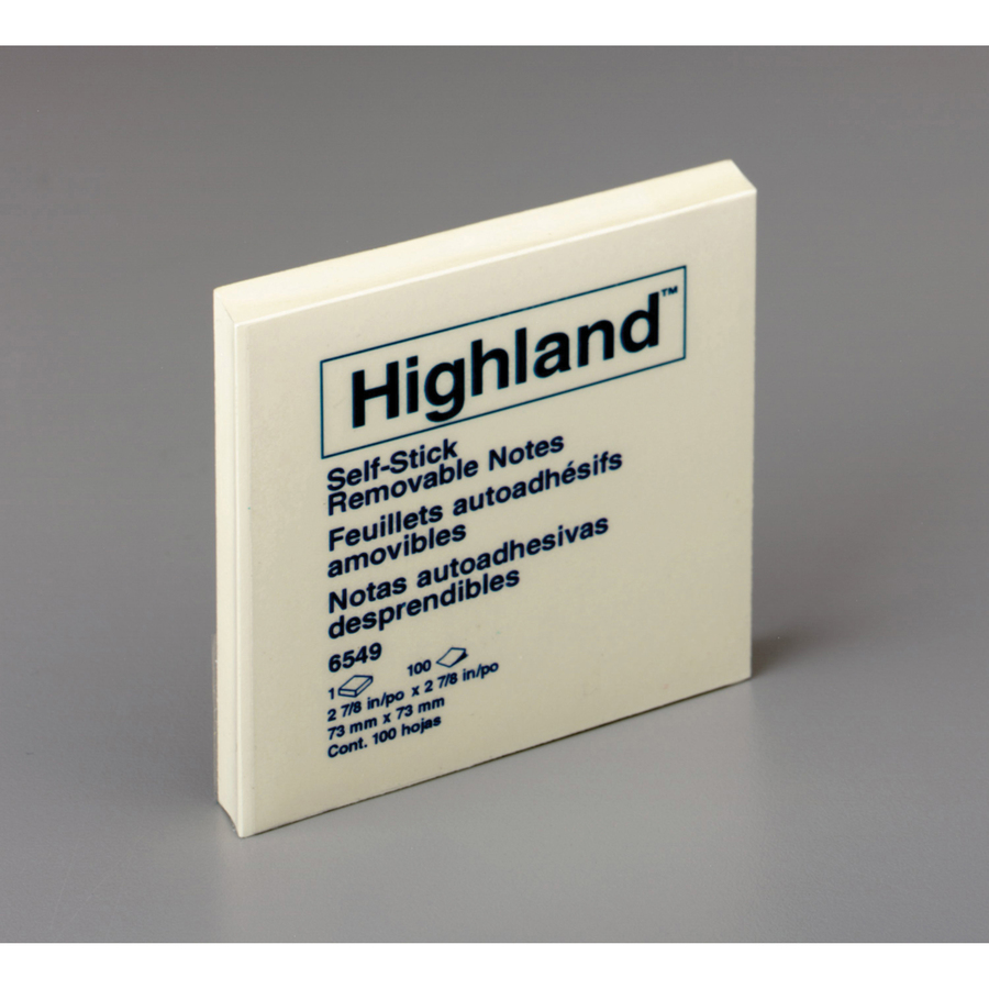 Highland Self-Sticking Note Pad