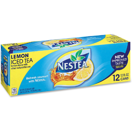 Nestea Canned Iced Tea Beverage - NLE444222 - SupplyGeeks.com