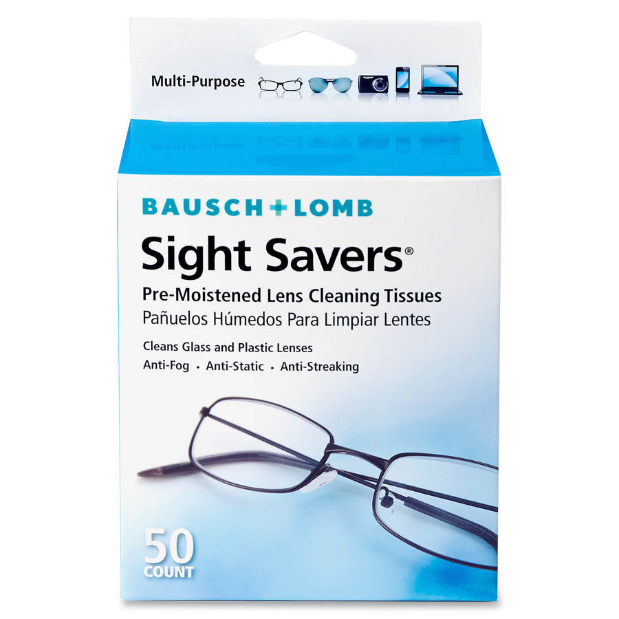 Bausch & Lomb Sight Savers Plus Cleaning Tissues