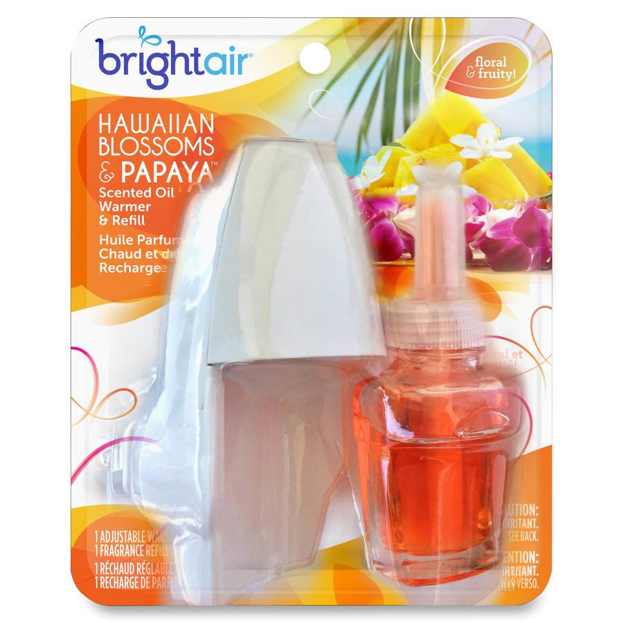 Bright Air Hawaiian Scented Oil Warmer Combo Oil 0.7 fl oz (0 quart  #BA9911