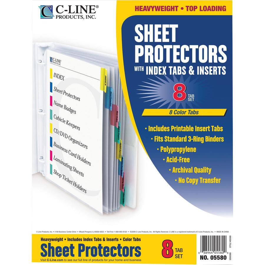 C line top loading sheet protector cli05580 supplygeeks alternate image2 original in package colourmoves