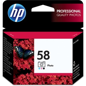 HP 58 Photo Original Ink Cartridge HEWC6658AN
