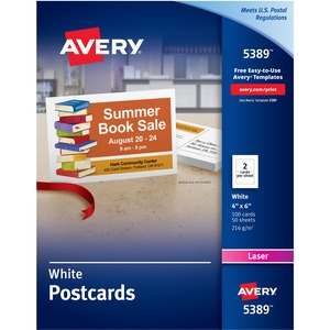 Avery Dennison Post Card