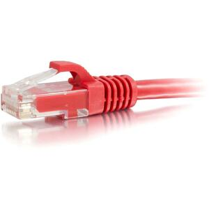 50ft Cat6 Snagless Unshielded (UTP) Network Patch Cable | Red