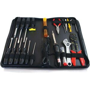 Cables To Go 20-Piece Computer Tool Kit (Includes Soldering Irons)(04591)