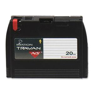 Imation Travan NS20 Data Cartridge - Travan Travan 20 - 10GB (Native) / 20GB (Compressed)