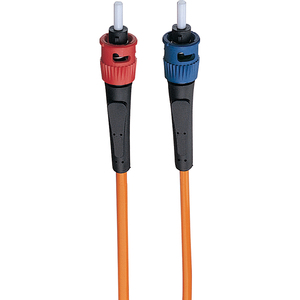 3FT DUPLEX MMF CABLE ST/ST 62.5/125 FIBER