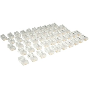 50PK MODULAR RJ45 CONNECTORS CAT5E STRANDED