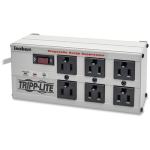 Tripp Lite Isobar 6 Outlet 120V Surge Suppressor