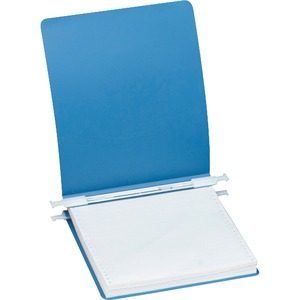 "Acco Accohide Unburst Data Binder - Letter - 8.5"" x 11"" - 6"" Capacity - 1 Each - Blue"
