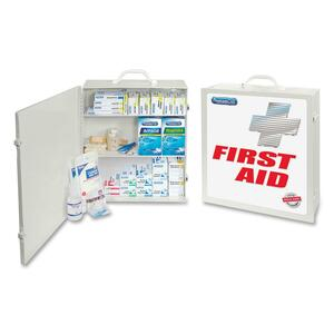 "PhysiciansCare 694-Piece First Aid Kit - 694 x Piece(s) For 50 x Individual(s) - 18"" x 12"" x 5"" - Metal Case"