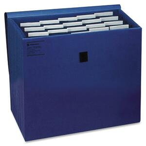 Wilson Jones Insertable Tabbed Expanding File with Flap WLJ23280