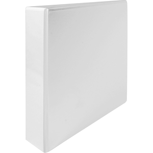 "Wilson Jones A-4 White Ring Binder - A4, A4 - 8.12"" x 11.62"", 8.5"" x 11.62"" - 375 Sheet x 2"" Capacity - 1 Each - White"