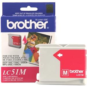 Brother Magenta Inkjet Cartridge For MFC-240C Multi-Function Printer BRTLC51M