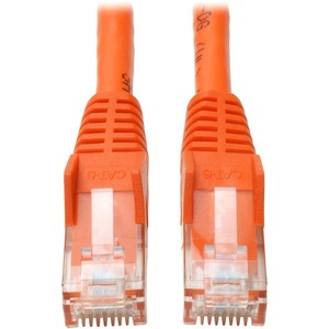 25FT CAT6 GIGABIT ORANGE SNAGLESS PATCH CABLE RJ45