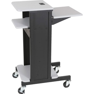 Balt Presentation Cart - Black, Gray