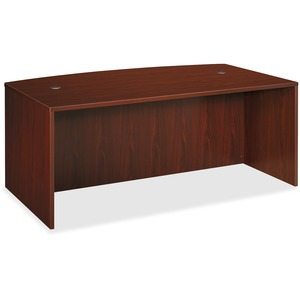 Basyx by HON BL Series Desk Shell with Bow Front Top BSXBL2111NN