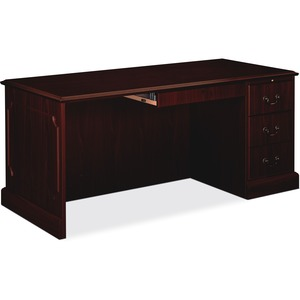 HON 94000 Series Right Single Pedestal Desk HON94283RNN
