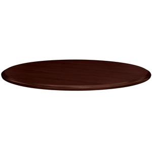 "HON 94000 Series Round Table Top - Round x 1.12"" - 42"" - Hardwood, Particleboard - Mahogany"