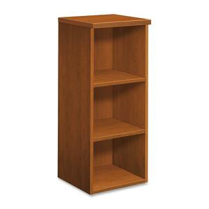 "HON Veneer Tower Bookcase Beaded Edge - 15.75"" x 14.75"" x 37"" - Wood - 5 x Shelf(ves) - Bourbon Cherry"