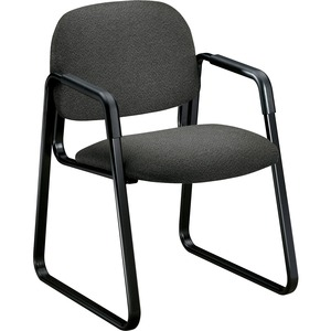 Charcoal Gray Guest Chair