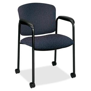 HON Tiempo 4615 Mobile Guest Chair With Casters HON4615BP90T