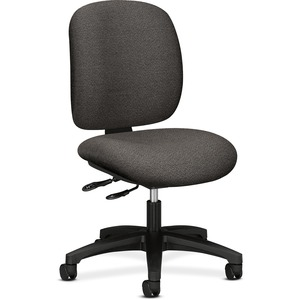 "HON ComforTask 5903 Multi-Task Chair Steel Black Frame24"" x 34"" x 40.5"" - Olefin Gray Seat"