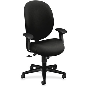 HON Unanimous 7602 Executive High-Back Chair HON7602BW19T