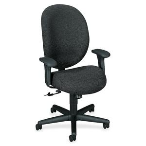 HON Unanimous 7604 Executive 24-Hour High-Back Chair HON7604BW19T