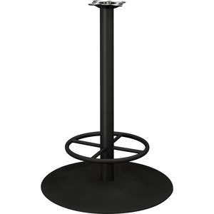 "HON Hospitality Table Base with Foot Ring - 41"" - Black Base"