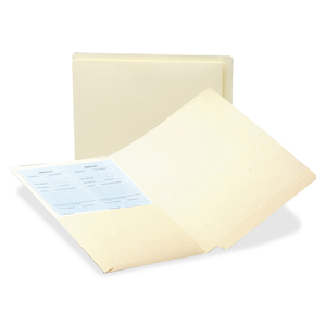 24116 Manila End Tab Pocket Folder with Antimicrobial Product Pr