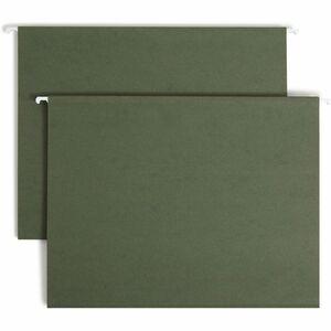 64010 Standard Green Hanging File Folders