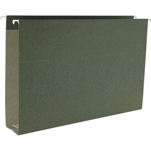 64359 Standard Green Hanging Box Bottom Folders