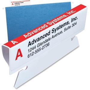 64910 Viewables Labeling System for Hanging Folders