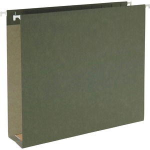 65090 Standard Green 100% Recycled Hanging Box Bottom File Folde