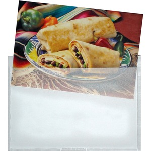 68164 Clear Self-Adhesive Poly Pockets