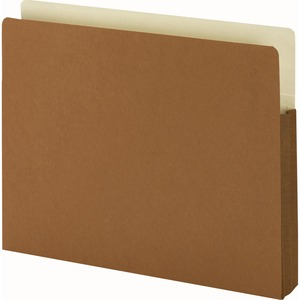 "Smead TUFF Pocket Easy-Access Top Tab File Pocket - 9.5"" x 11.75"" - Straight Tab Cut on Top - 1.75"" Expansion - 25 / Box - 12.5pt. - Red"