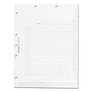 Tabbies Legal Index Divider Sheets TAB53018