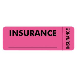 Tabbies Insurance Label TAB06420