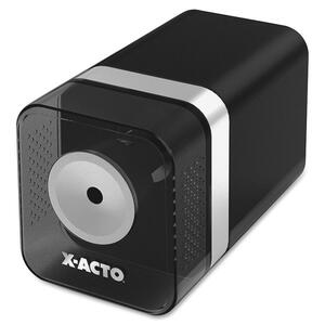 Black. Silver. Electric Pencil Sharpener